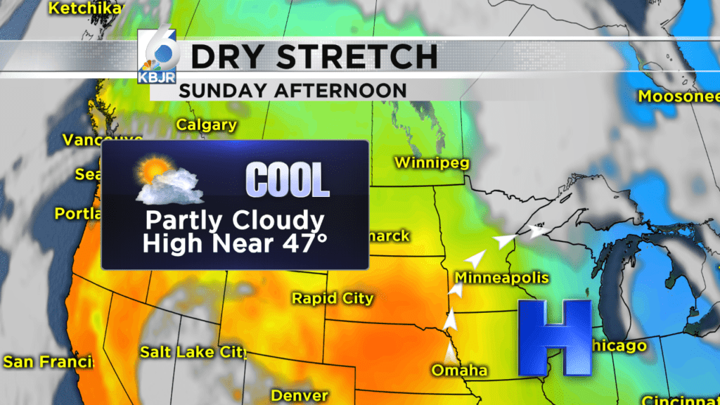 Dry Stretch: Jenna Lake's Forecast