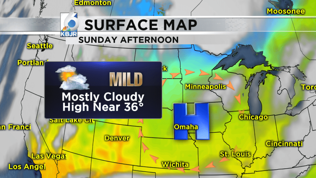 Dry & mild stretch continues… for now: Jenna Lake's forecast