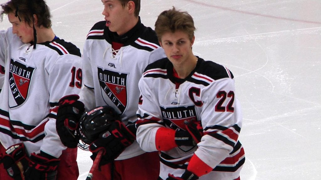 Ryder Donovan signs with Wisconsin Men's Hockey