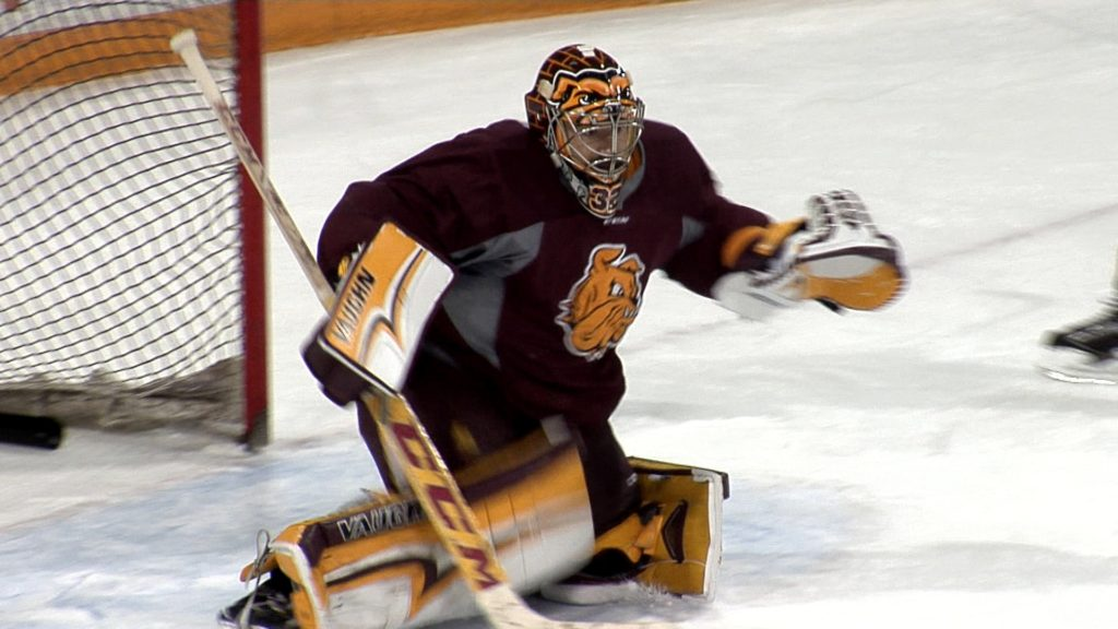 Making Hunter Shepard: the UMD goaltender quietly writing his name into history books