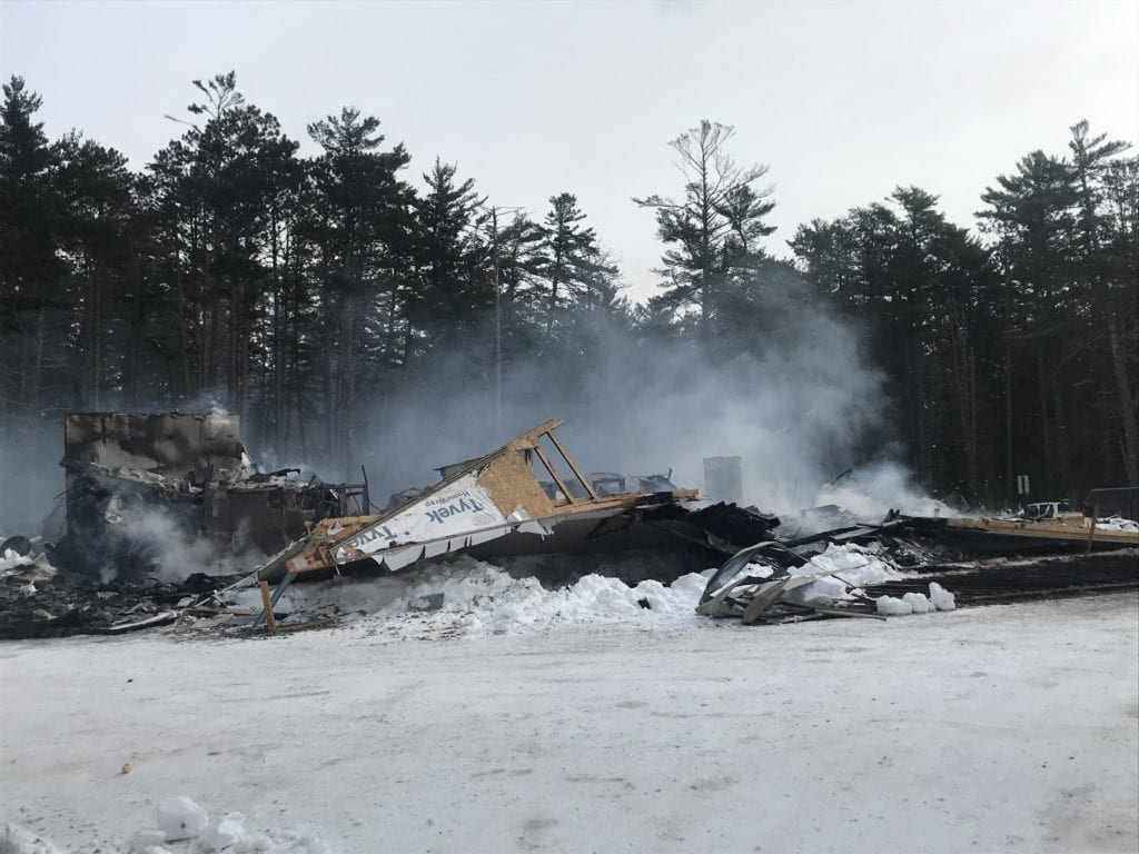 Cause Of Madeline Island Fire Hall Blaze Officially