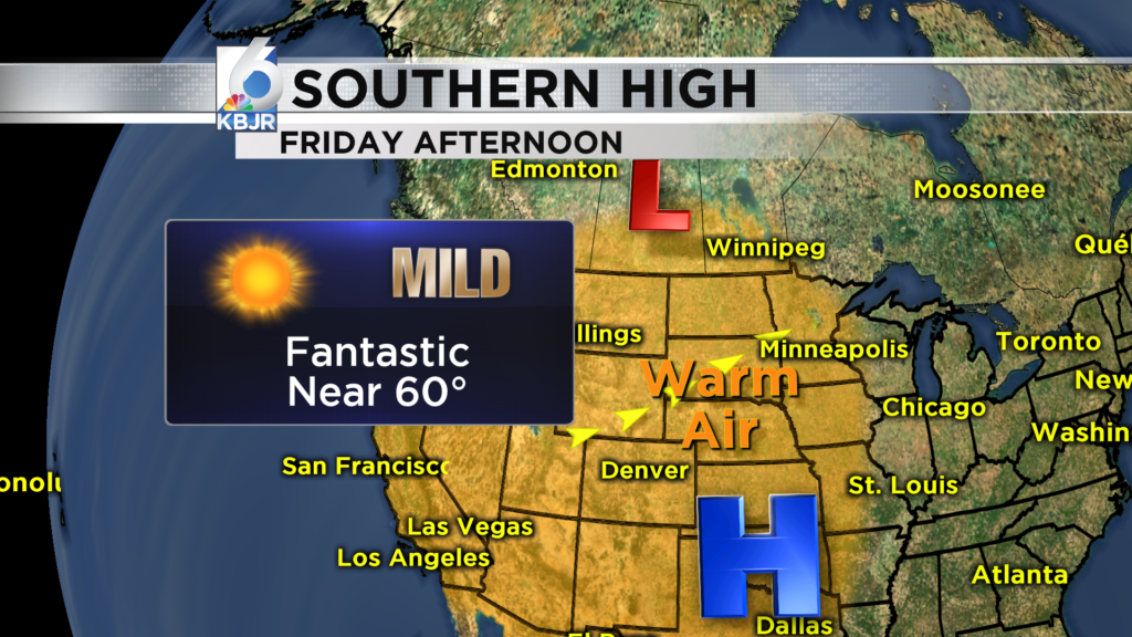 Clearing Up, and looking great for Friday!