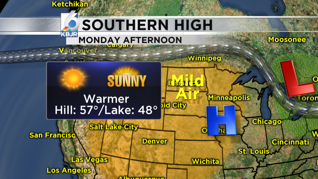 Skies Clear Up, Temperatures Warm Up!