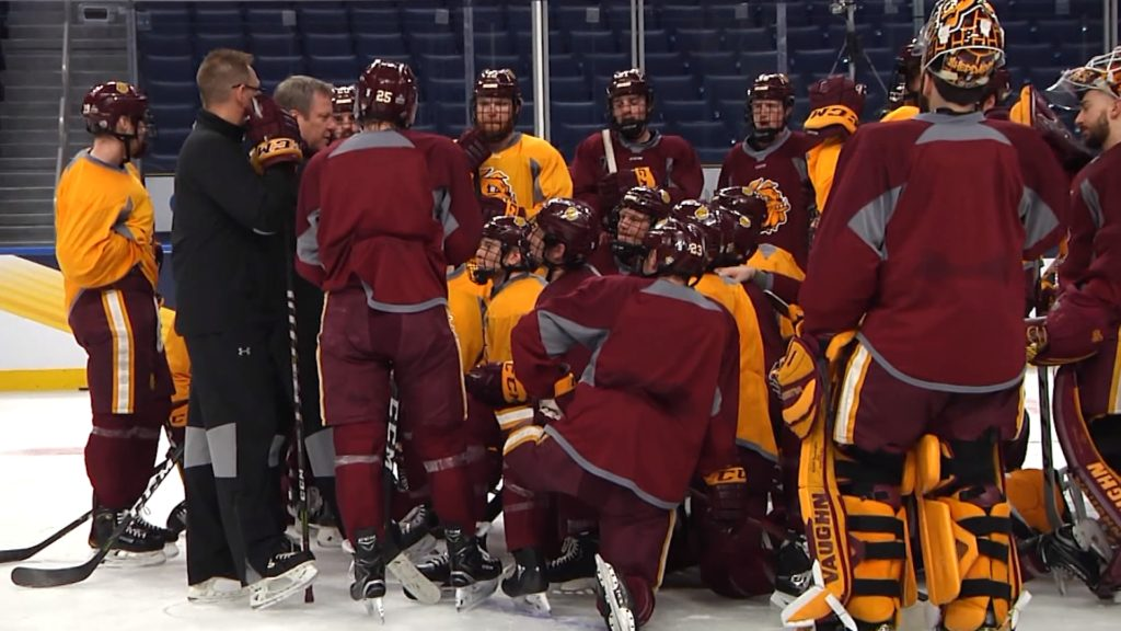 UMD carries energy into final practice of the season ahead of national championship