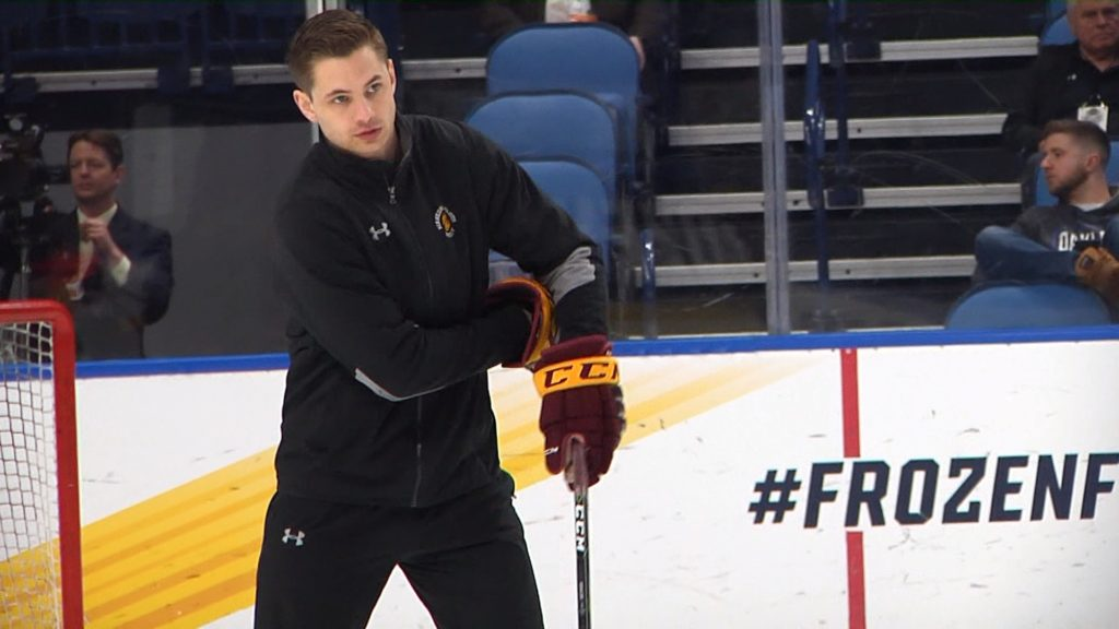 Been there done that: Adam Krause returns to Frozen Four as a coach
