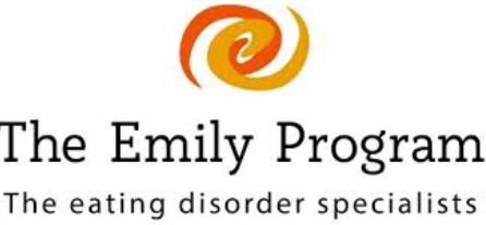 Discussing eating disorders and treatment options with 'The Emily Program'