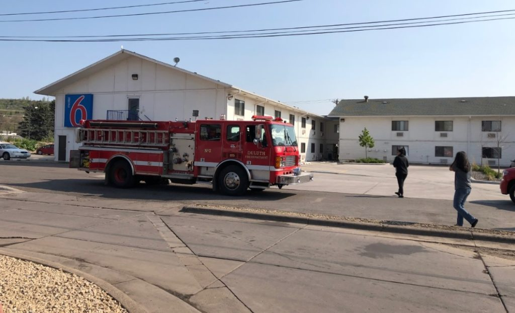 Duluth's Motel 6 Evacuated As Crews Fight Fire