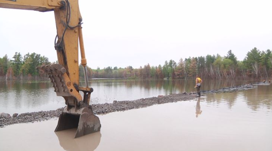 One year later: Pigeon Lake still struggling to open washed out road