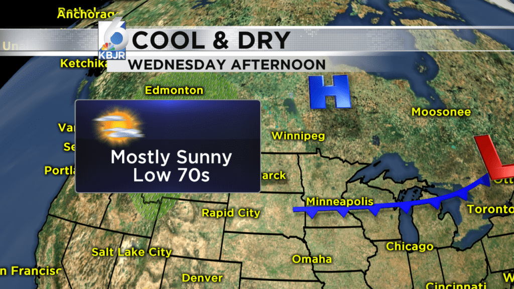 Clear & Dry for the next couple days!