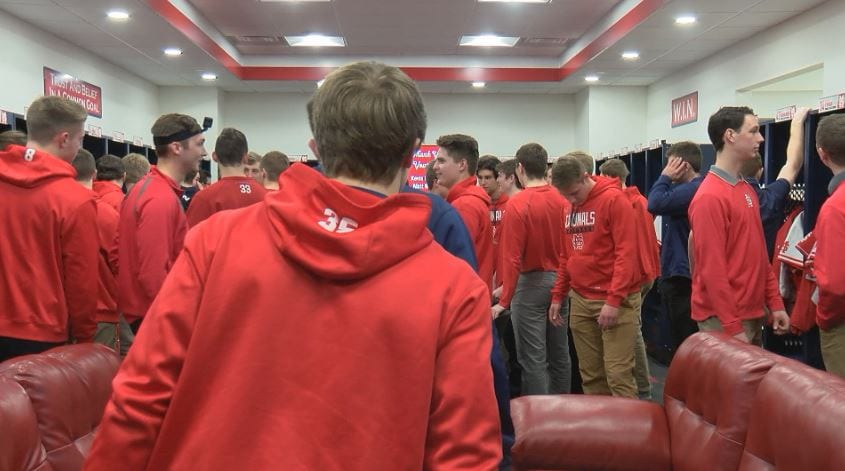 Saint Mary's heralds new baseball clubhouse as nicest in Division III