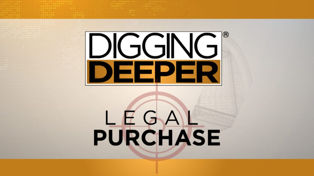 Digging Deeper: Legal Purchase