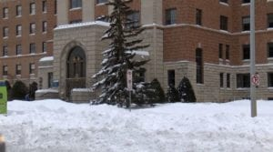 With blizzard howling outside, Mayo Clinic Hospital