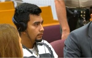 Cristhian Rivera in court