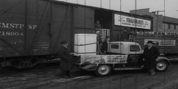 Throwback Thursday: a life-changing appliance delivery
