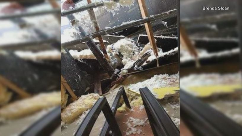 Several Roof Collapses Reported After Latest Snow Storm