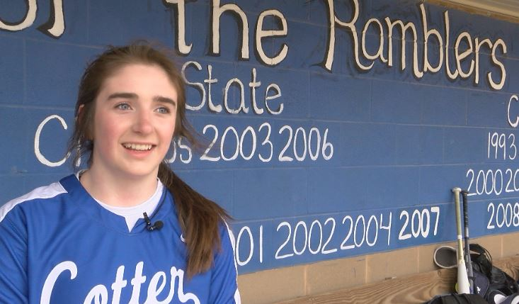 Athlete of the Week – Izzy Northrop, Cotter Softball