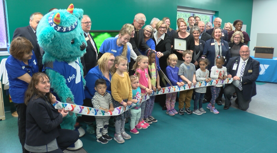 Ribbon Cutting at YMCA Childcare Center
