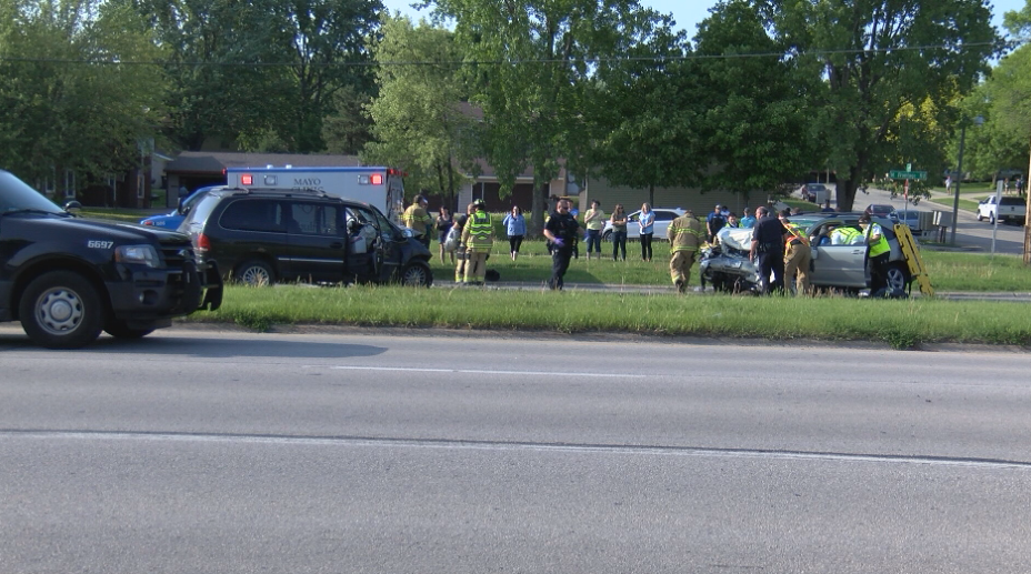 UPDATE: One person killed in NW Rochester two-vehicle crash