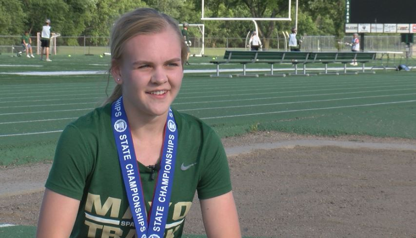 Athlete of the Week – Annie Wendt, Mayo Track and Field