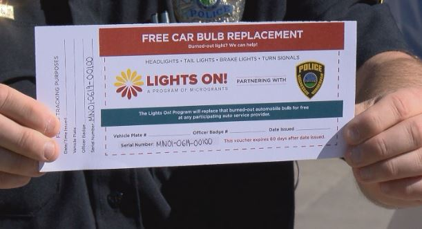 Bright idea: Rochester cops will start handing out coupons