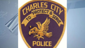 Charles City, Iowa Police Department patch