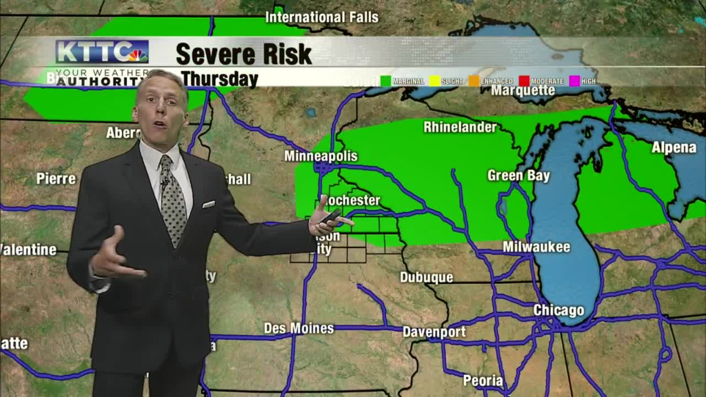 Warm and muggy with more thunderstorm chances today and Wednesday