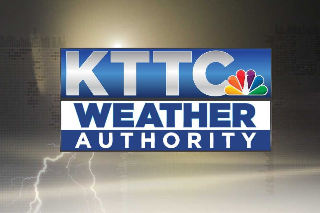 KTTC weather graphic