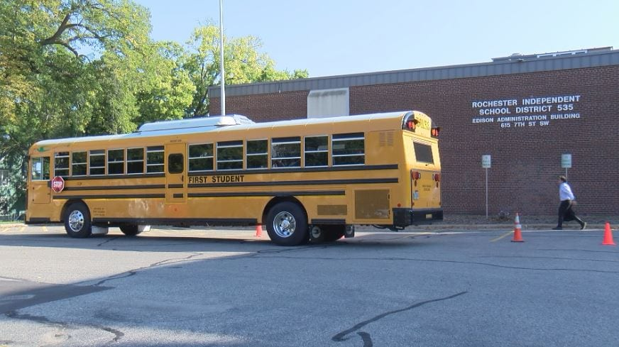 Electric School Bus, Rochester