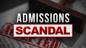 Admissions scandal graphic