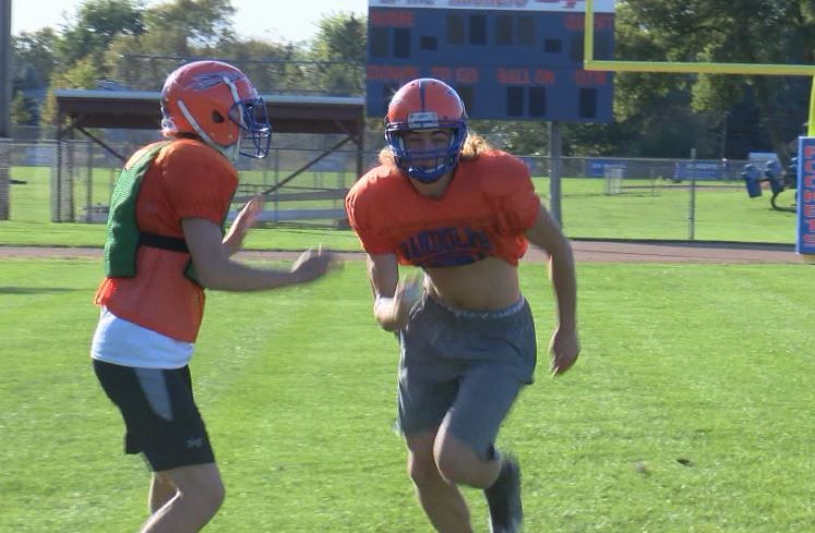 Athlete of the Week – Isaac Stoesz, Randolph Wide Receiver