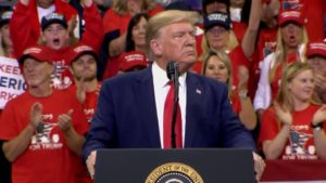 President Trump at Target Center rally