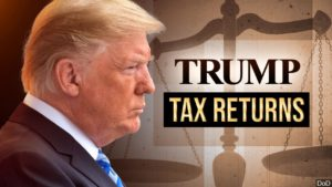 Donald Trump, tax returns graphic - MGN
