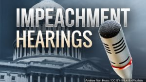 Impeachment hearings graphic