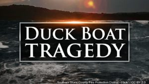 Duck boat tragedy graphic
