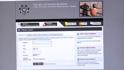 How to check your area for registered sex offenders