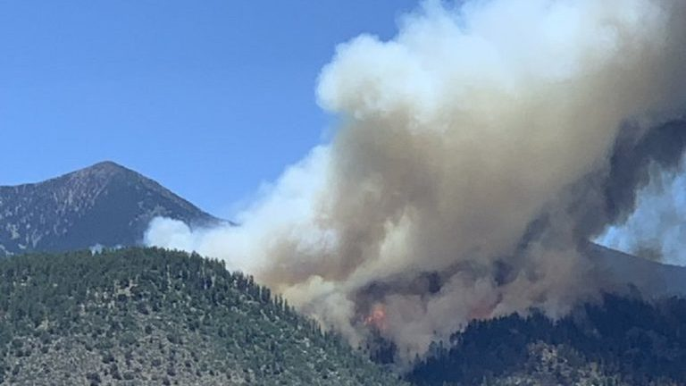 The Latest: Governor says wildfire near Flagstaff has grown