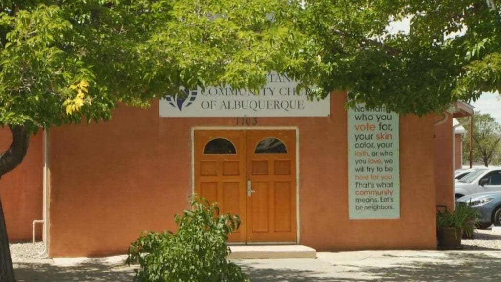 Albuquerque churchgoers are worried their community is the target