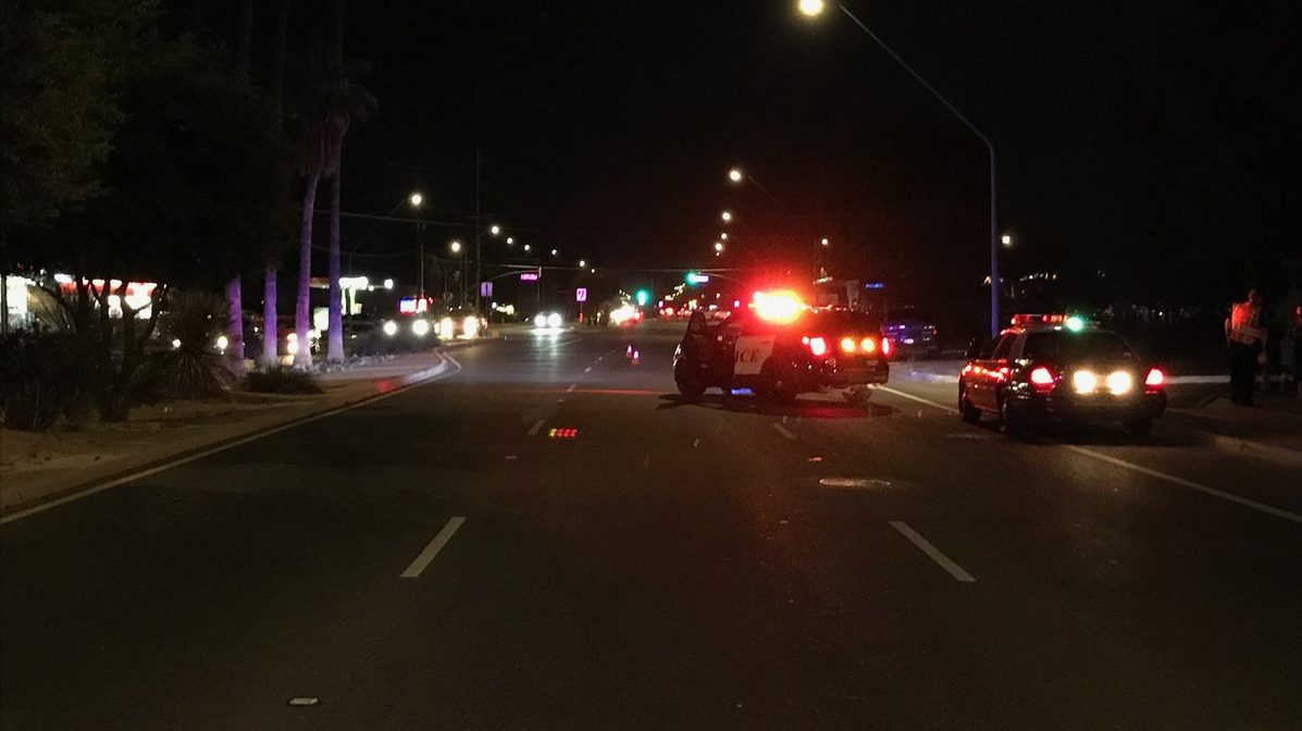 Tucson police investigate crash involving pedestrian in South Tucson