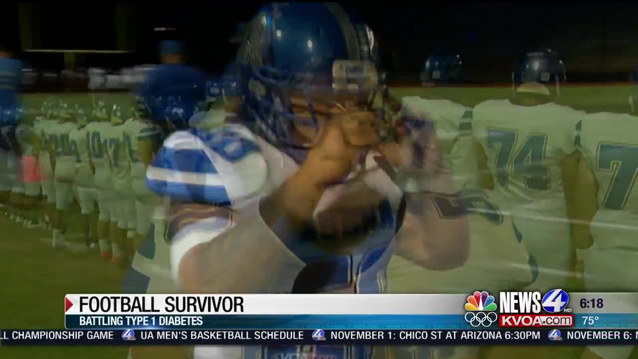 Sierra Vista football player's battle to stay alive