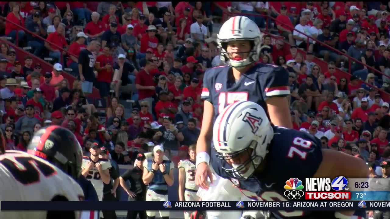"QB Controversy for UA? Players react to question: ""Tate or Gunnel?"""