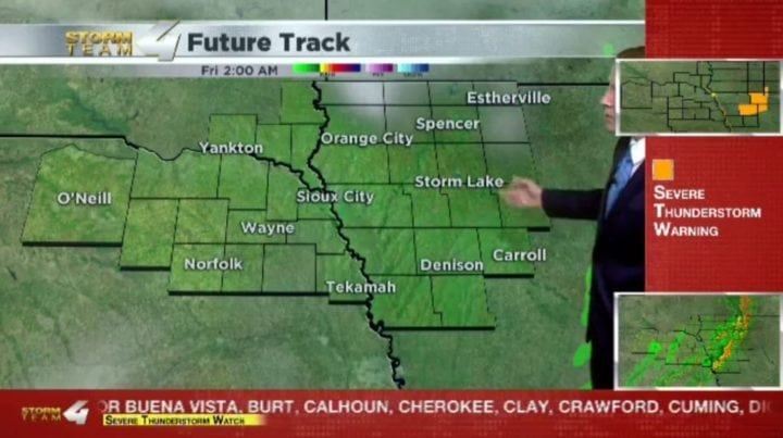Storms Move Out As Cooler Weather Moves In