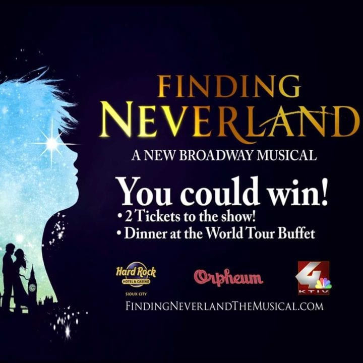 Finding Neverland Giveaway Official Rules