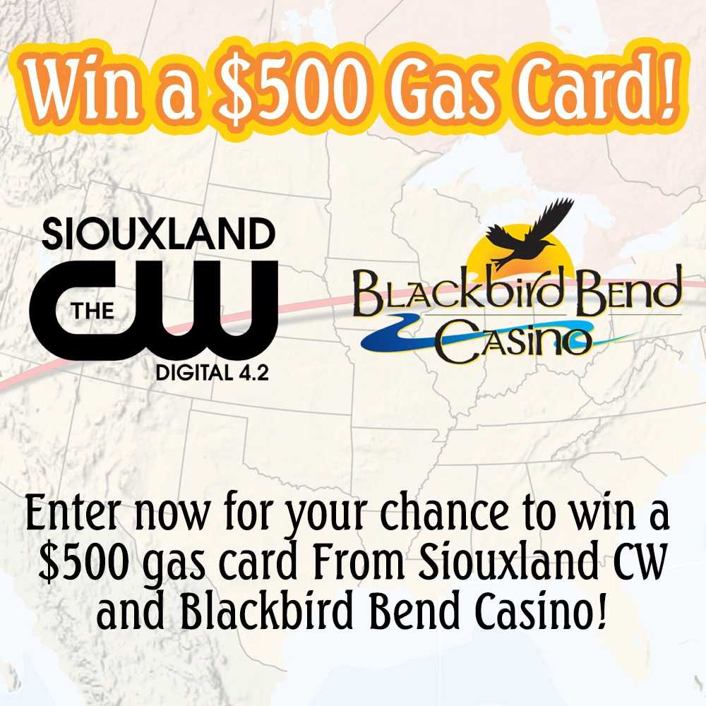 Blackbird Bend Gas Card Giveaway