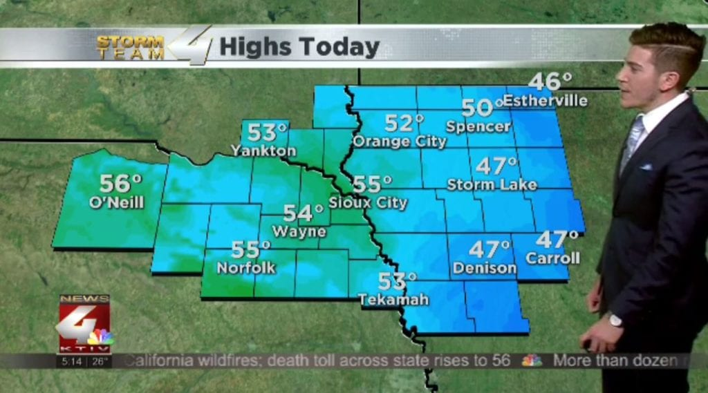 T.J.'s Forecast: More mild air moving in