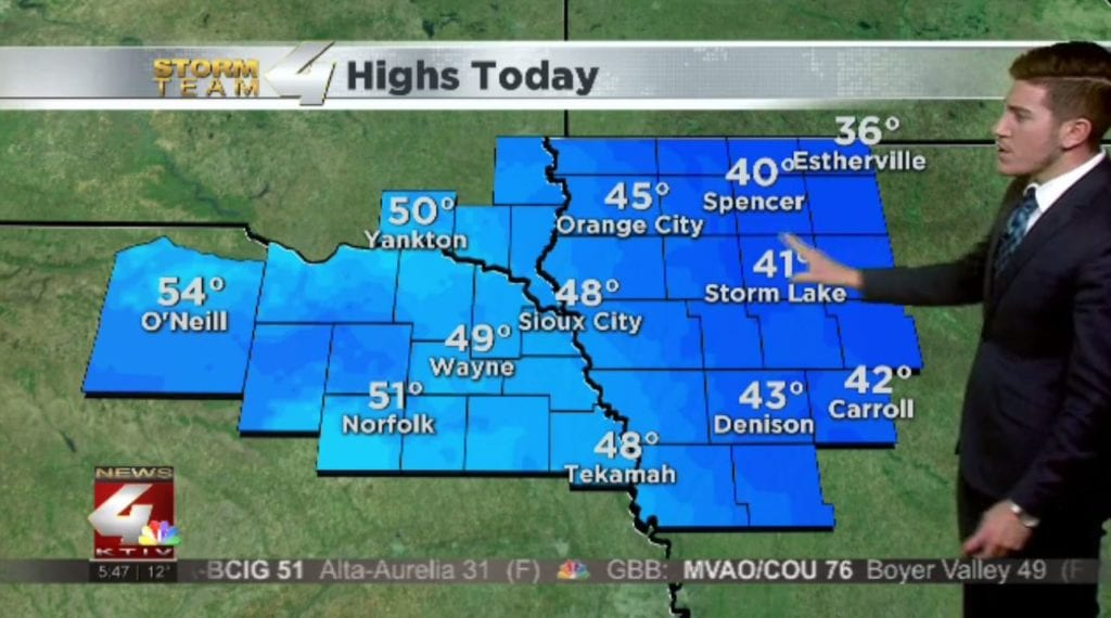 T.J.'s Forecast: Warming trend begins across Siouxland