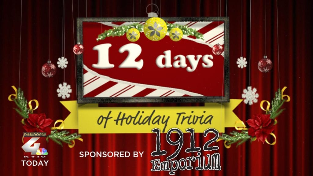 Official Rules: 12 Days of Holiday Trivia Giveaway