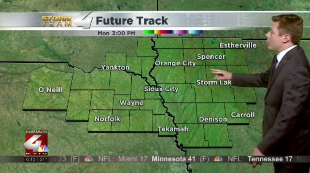 Beautiful December weather carries over into Monday