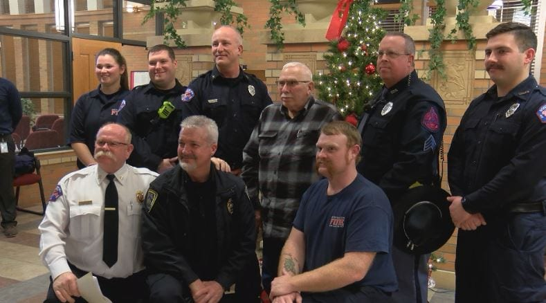 """Code Save Award"" presented to South Sioux City first responders"