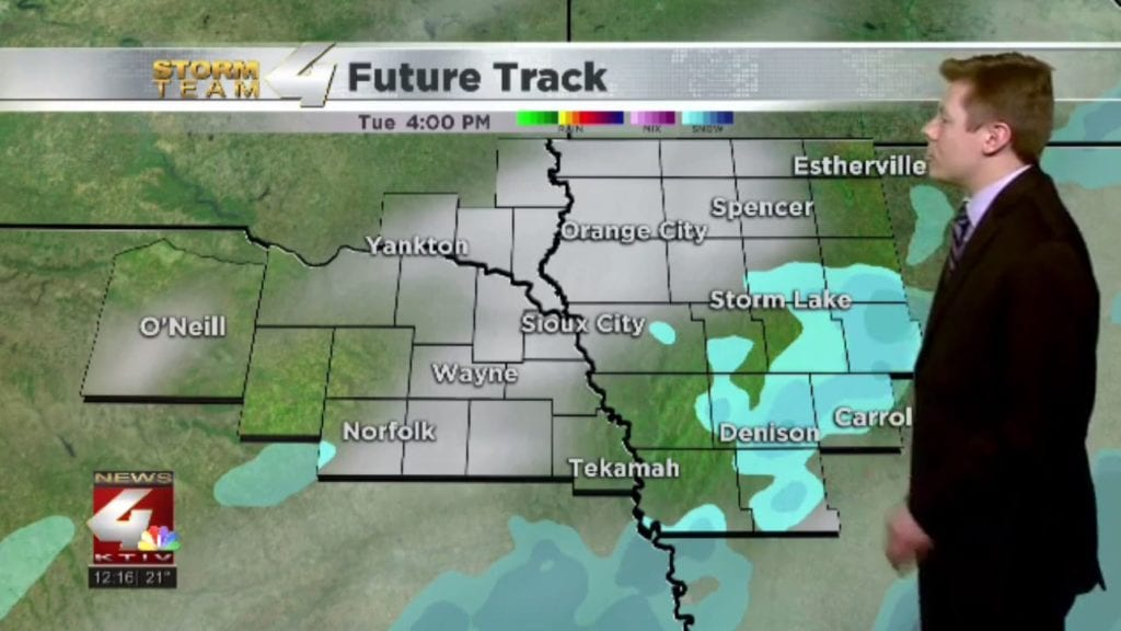 Slick conditions continue with light snow showers