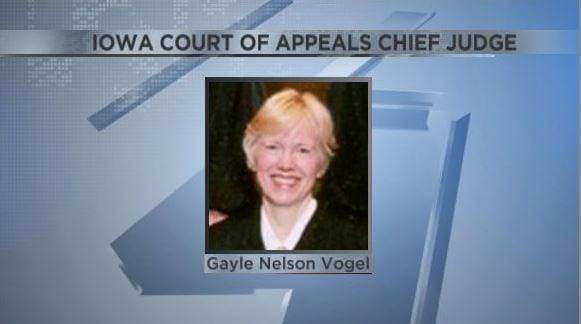 Spirit Lake woman elected Iowa Court of Appeals chief judge